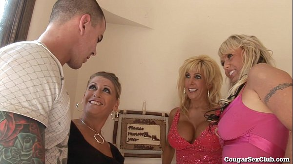 3 Horny MILFs Go Wild For Cock