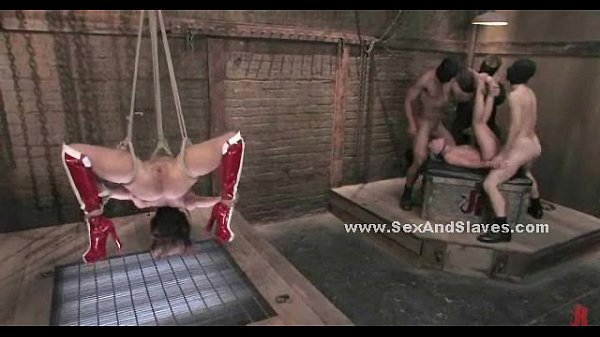 Sex slaves locked and incredibly fucked