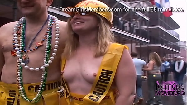 The Freaks And Tits Come Out On Fat Tuesday