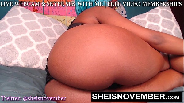 EAT MY FAT BOOTY WHILE I SPREAD MY SOFT BUTT ON WEBCAM I'M MSNOVEMBER FUCK ME 18 Thumb