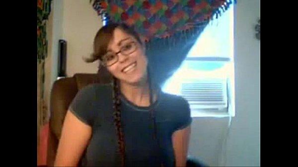 Busty teen with braids fucks her big ass on webcam - WetSlutCams.com