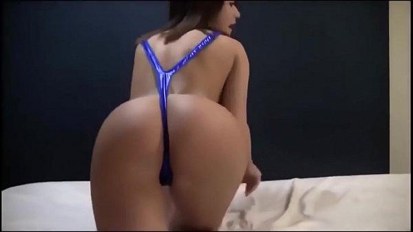 Hot Latina teasing in thin bikini Thumb