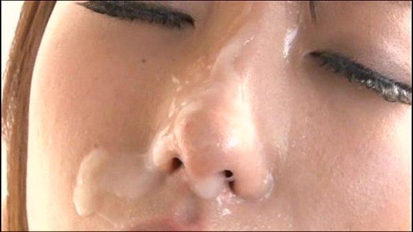 Japanese girl has nosefuck 2