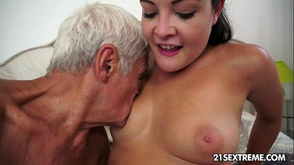 Teen cutie's kinky picnic with a grandpa Thumb