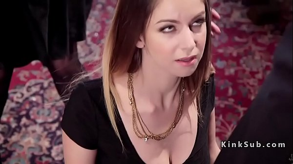 Slaves got anal and throat training  thumbnail