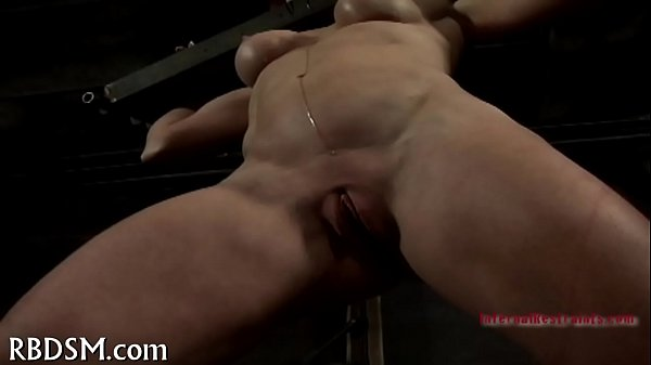Chained babe needs sexy castigation Thumb