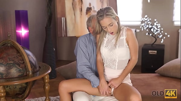 OLD4K. Insistent girl does everything to get access to teachers dick