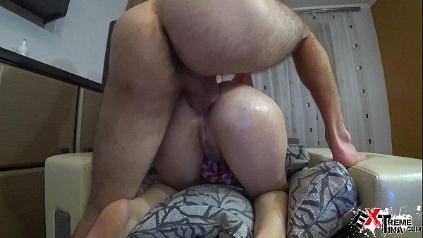 Closeup Hard Anal Sex - Creampie