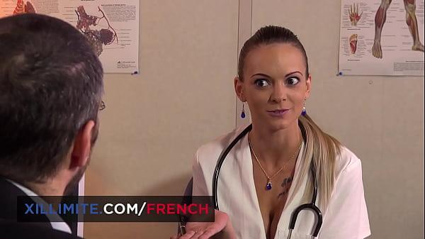 Big boobs doctor Tiffany Leiddi fucked hard