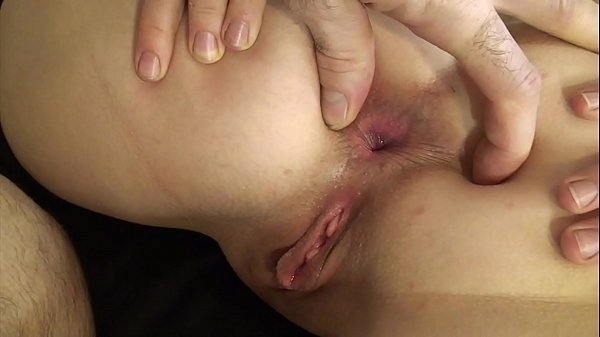 Massage therapist fucks my ass and cums in my p...