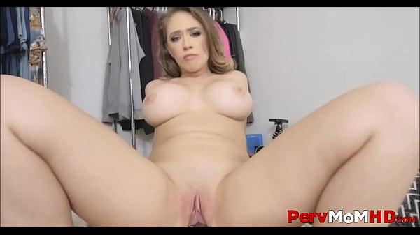 Sexy Big Tits And Big Ass MILF Stepmom Can't St...