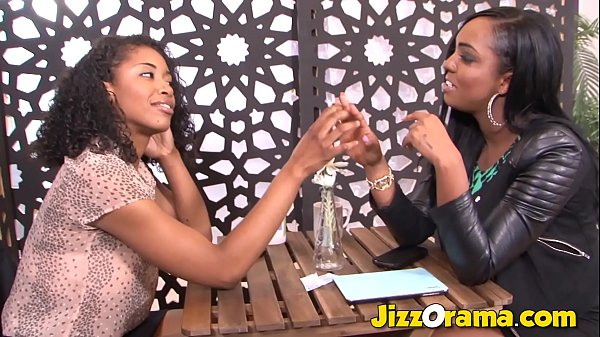 Jizzorama - Black on Black Lezzie Fuck After Me...