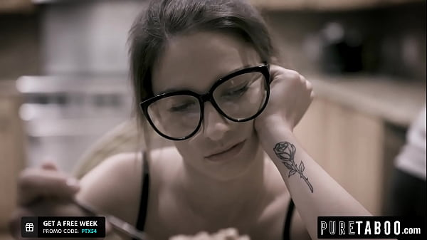 Hot nerd Kristen Scott gets her holes filled by...