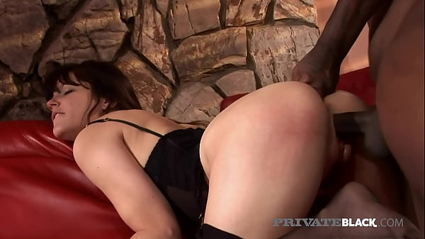 PrivateBlack - Hot Bobbi Starr Gets Puckered Butthole Banged By BBC!