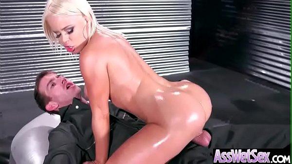 Nikki Delano) Gorgeous Girl With Huge Ass Enjoy Deep Anal Bang clip-27