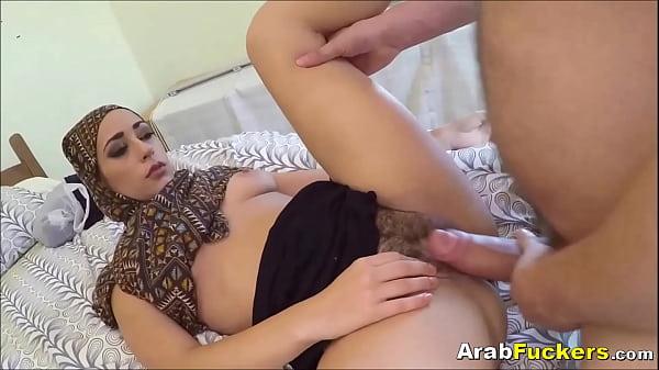 Poor Arab Girl Desperate For Cash Sucks And Fucks