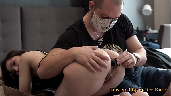 CUTE TEEN MONICA  FIRST TIME IN THE ANAL PORN VIDEO - TRAINING ASSHOLE (START) Thumb