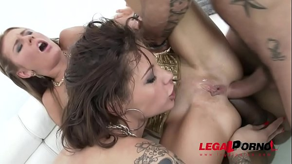 Totally Epic 100% Anal   Double Anal Group Sex with Nikita Belucci & Timea Bella
