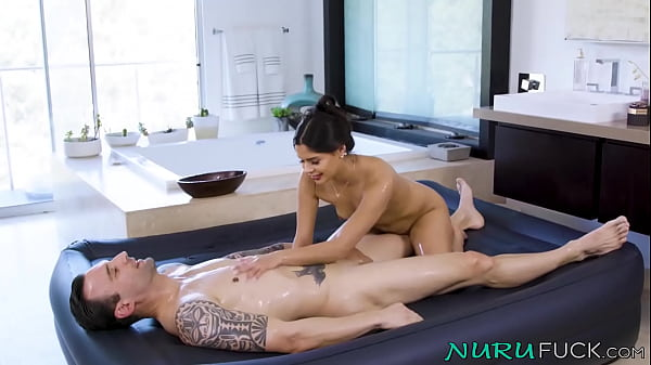 Katya Rodriguez gets drilled doggystyle during massage