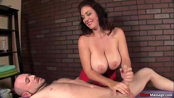 mean-Busty milf cock treatment