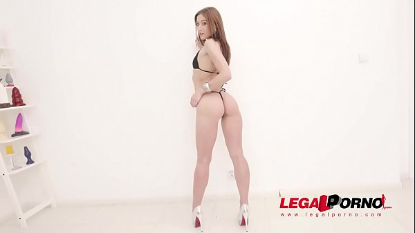 Mina 5on1 mini gangbang with balls deep DAP, TAP & anal fisting SZ2464
