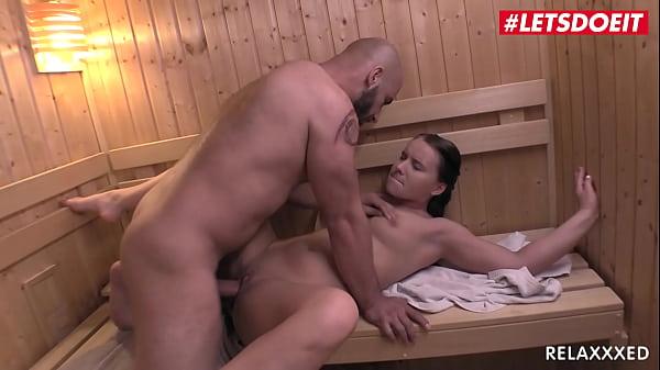 LETSDOEIT - (Wendy Moon & Neeo) Peach Booty Czech Girl Rides Big Dick On A Sauna