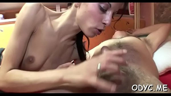 Sensational brunette Ivanna rides slim jim well Thumb