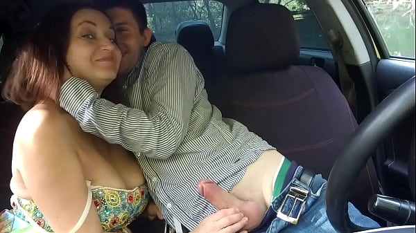 Deepthroat in taxi Russian milf woman's reactio...