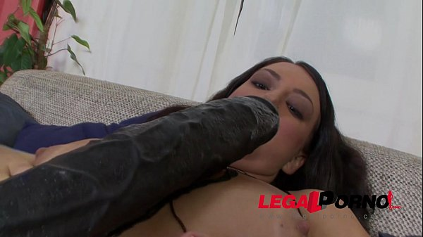 Tall tan-lined Clair Solo fucks the Biggest Dildo on Earth! Thumb