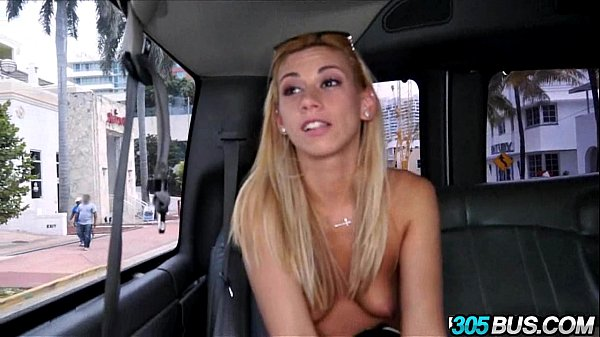 Cute Blondie Coco Blue Gets Tricked on the Bus.2