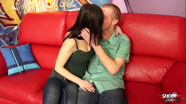 Pornostar Melissa Black and her boyfriend showing hot fuck from private bedroom