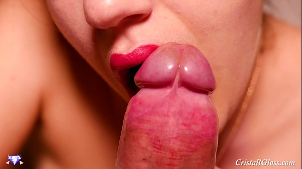Blowjob and Swallow Closeup – Cristall Gloss