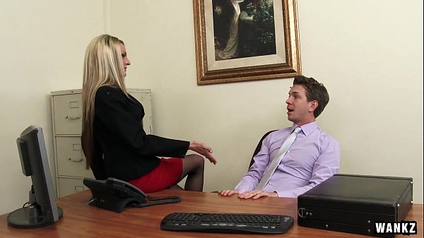 Russian Employee Exploited for Sex By Hot MILF Boss