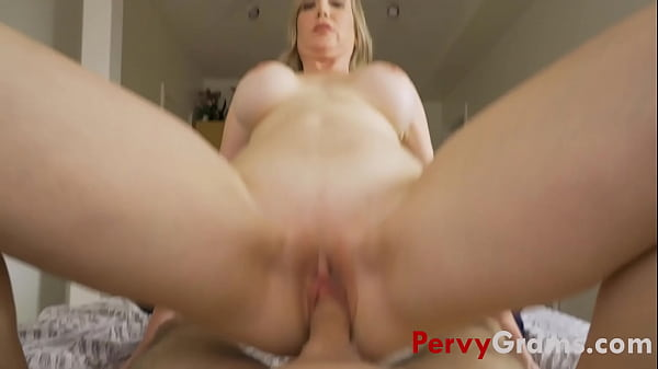 Grandmom Shows Grandson What It's Like To Date A Slut-  - Lilly James Thumb