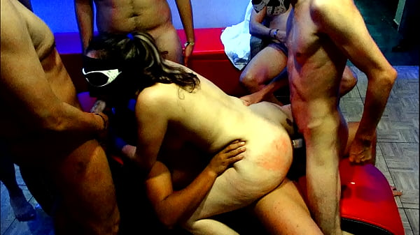 DANNA HOT IN AN EXTREME GANGBANG WITH 6 MEN