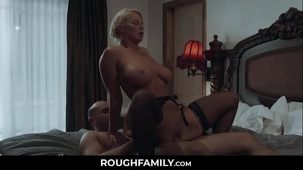 Mommy Cheating with Her Husband's Son - RoughFamily.com