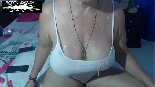 STUDIO 382977-ELIZABETH SPIT AND SNOT BUKKAKE AVAILABLE AT: https://spitfetishvideos.com/product/studio-382977-elizabeth-spit-and-snot-bukkake