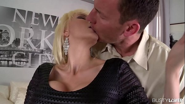Busty lovers can't wait to watch blonde Sandra ...