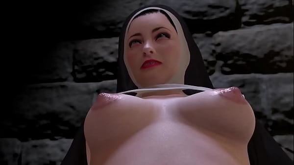 Nun has a night of prayer and lust