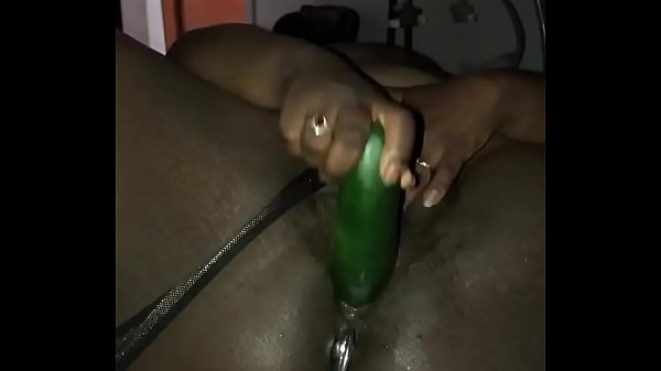 Quarantine has me fucking this pussy with a cucumber (NookieCookies)