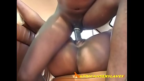 Fat dick stretching black pussy
