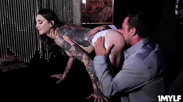 Tattooed Rocky Emerson takes Johnny Castle's ha...