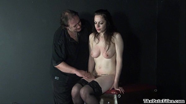 Hell pain whipping amateur bdsm tit t. masochist Beauvoir