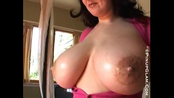 Lorna Morgan big tits oil