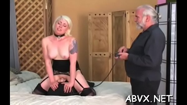 Redhair neighbor shows pussy