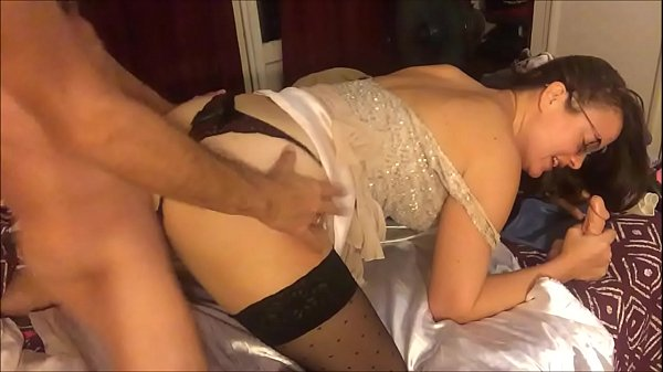 T&A 381 – Fucking in Clothed Satin Pants