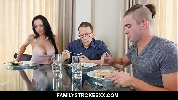Busty aunt seduces step-nephew staying over - Portia Harlow porn