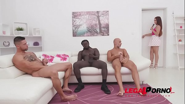 Ginebra Bellucci 3on1 fuck session with DP, DAP...