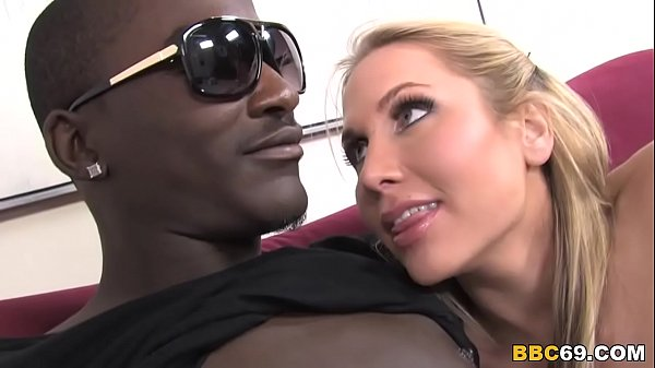 Big Titted Alanah Rae Takes Big Black Cock