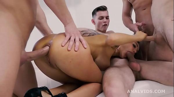Russian Pee, Monika Fox 4on1 Balls Deep Anal, D...